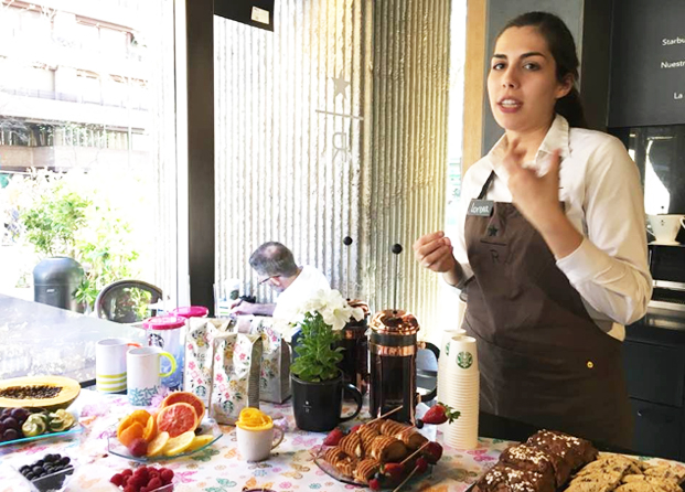 Lorena Labrador, Coffee Ambassador de Starbucks en España