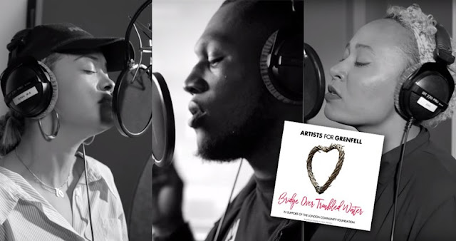 "Grenfell Tower single ""Bridge Over Troubled Water"" enters at No. 1 In The UK"