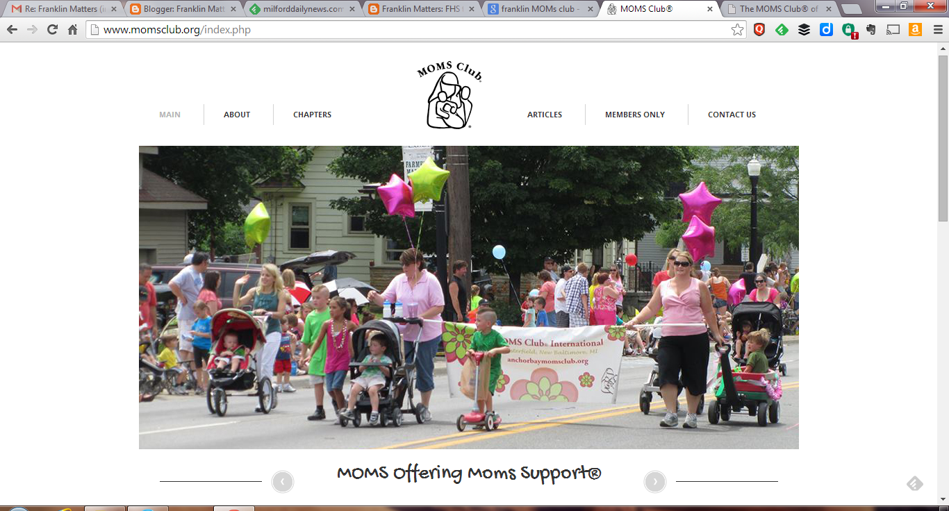 International MOMs Club website