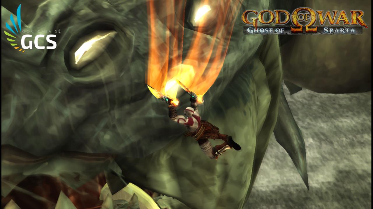 CÙNG CHƠI - (PSP|PC|MOBILE) GOD OF WAR: GHOST OF SPARTA (PSP