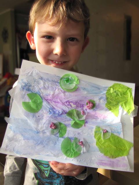 Monet Art Study