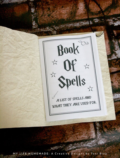 photo regarding Harry Potter Spell Book Printable known as my everyday living selfmade: Uncomplicated Do-it-yourself Wizard Spell Guide
