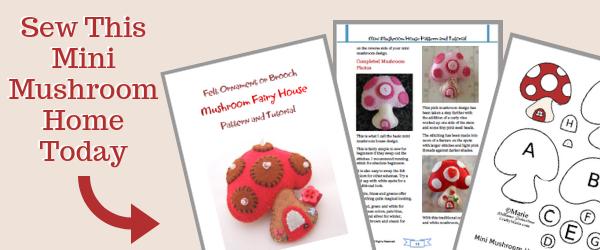 Get mini mushroom pattern PDF