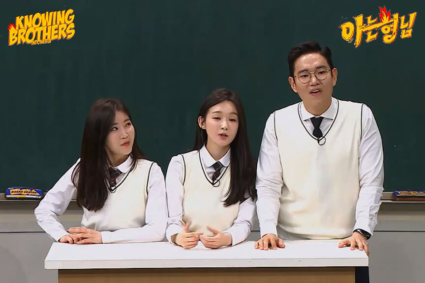 Knowing Brothers eps 180 – Davichi & Jang Sung-kyu
