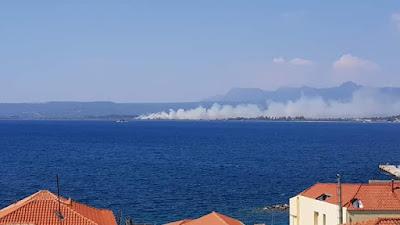 Υπό έλεγχο μετά από μάχη η φωτιά στο Διβάρι Γιάλοβας