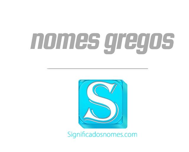 Nomes Gregos de A a Z