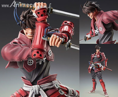 Figura Toyohisa Shimazu Super Action Statue TV Anime Drifters