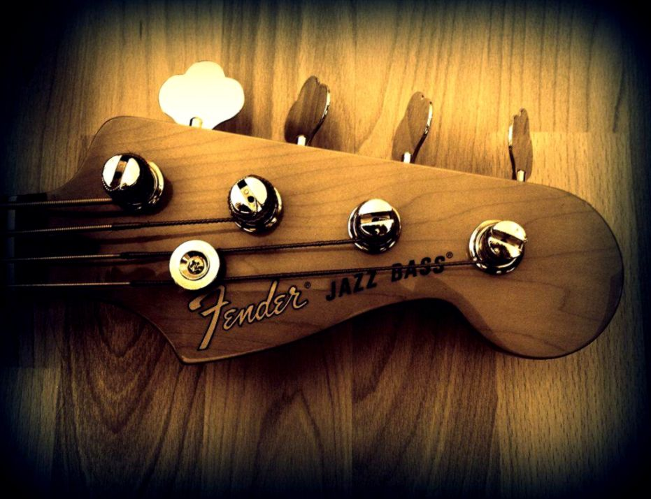 Fender Jazz Bass Head Music Hd Wallpaper Bronze Wallpapers