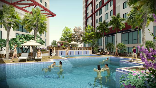 không gian sống tiện ích đẳng cấp tại chung cư Imperial plaza