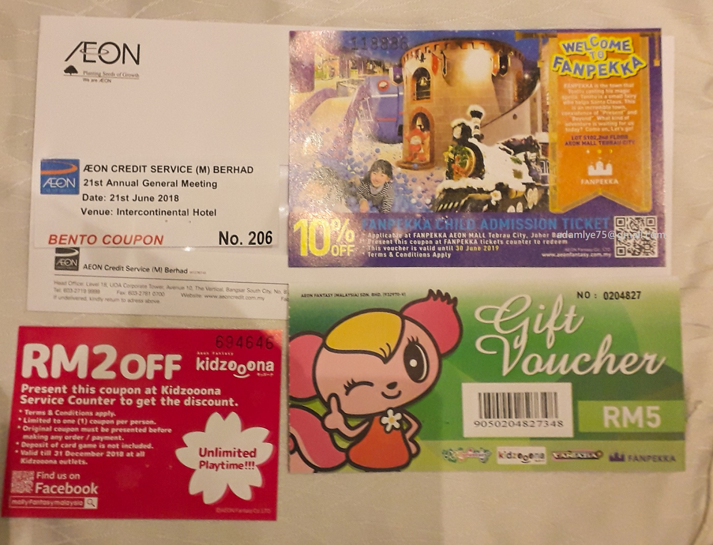 Adam Daily 5139 Aeoncr 21st Agm 2018 Jun 21 Voucher Fanpekka