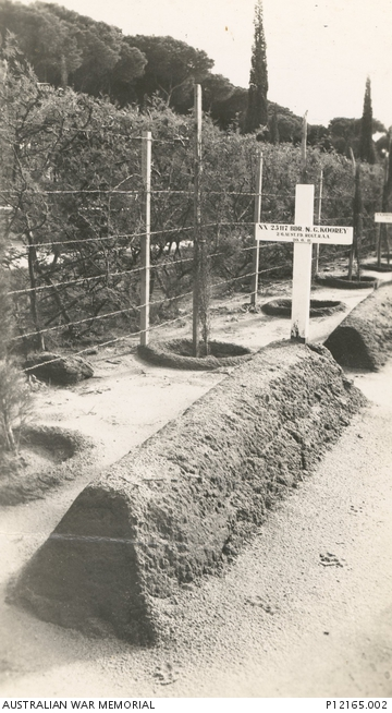 Gravesite in Lebanon 20 June 1941 worldwartwo.filminspector.com