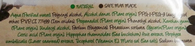 montagne jeunesse alga negra composicion ingredientes