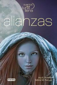 portada del libro alianzas cuentos de luna llena