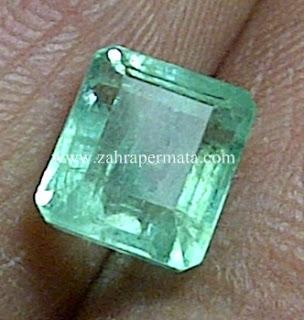 Batu Permata Jamrud Colombia + Memo - ZP 627