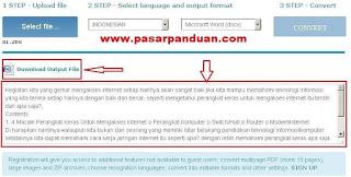 cara mengambil teks dari gambar dengan situs online
