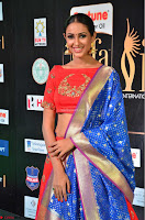 Priya Shree in Beautiful Blue Saree at IIFA Utsavam Awards 2017  Day 2    HD Exclusive Pics 31.JPG