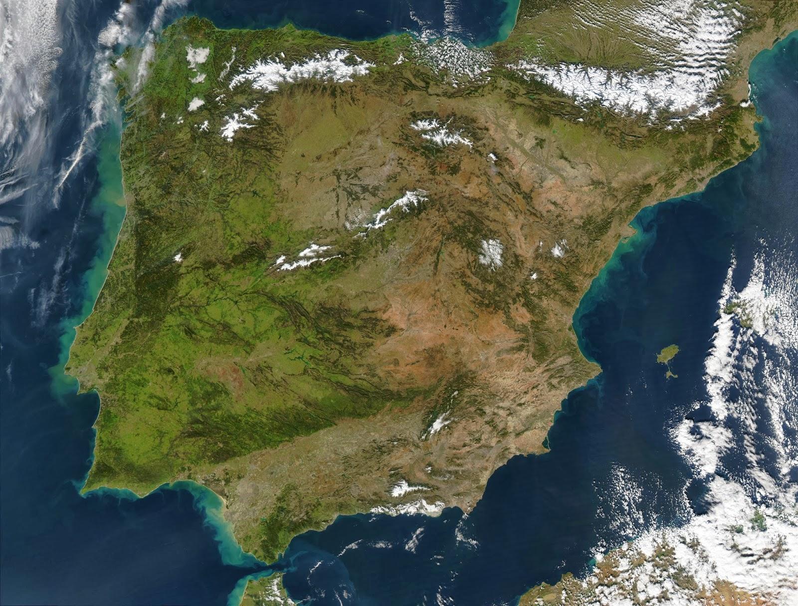 mapa via satelite portugal Mapa Via Satelite De España mapa via satelite portugal