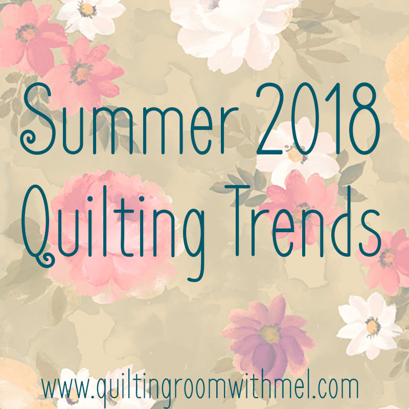 Learn what is the next big things in quilting these summer months.