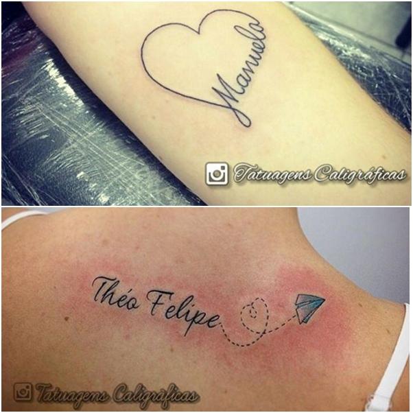 Imagens De Tatuagem Com Nomes