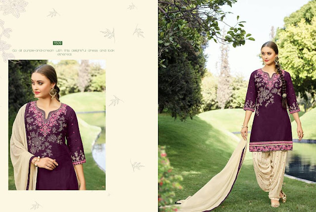 Buy Online Punjabi Traditional Patiala Salwar Suit Collection For Party Wear