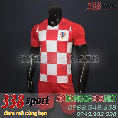 Áo Bóng Đá Đội Tuyển Croatia 2018 2019 Sân Nhà
