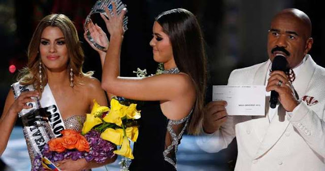steve harvey miss colombia 2015 2016 corona por error