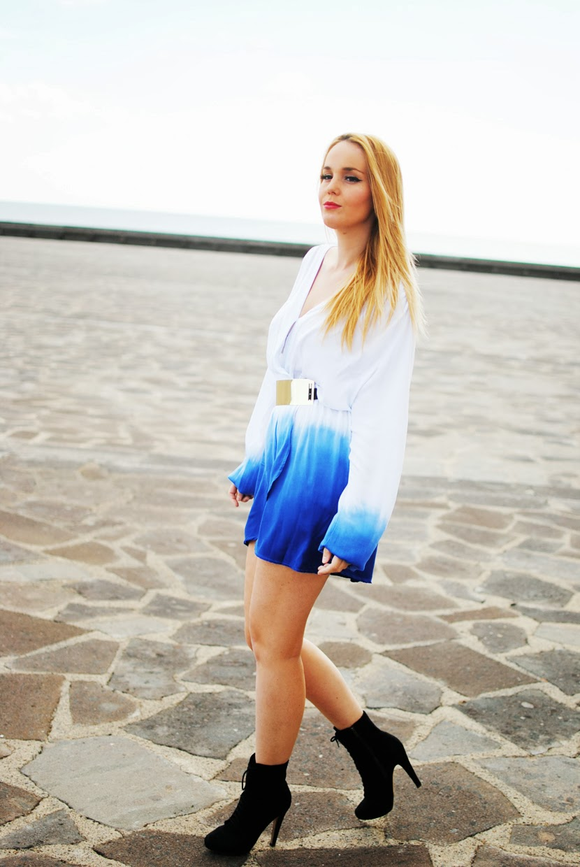 tie-dye, ILWF, Inlovewithfashion, Nery hdez, grunge style, tie-dye dress