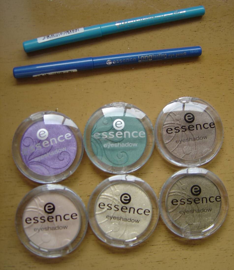 Essence Mono Eyeshadows and eye pencils.jpeg