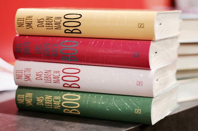 Osiander, Lieblingsbücherabend, Miss Paperback, Das Lieben nach Boo, Neil Smith