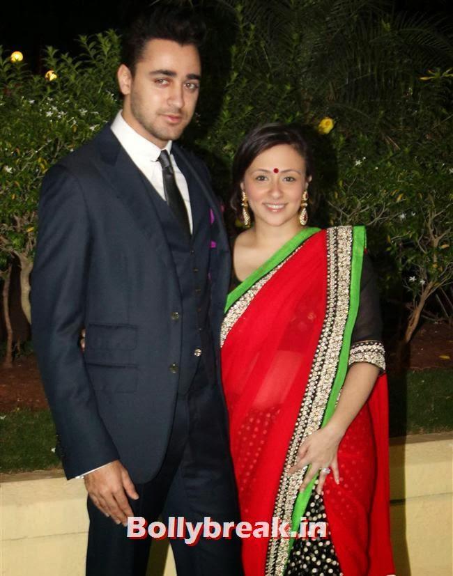 Imran Khan and Avantika, Bollywood Babes at Vishesh Bhatt Wedding Reception