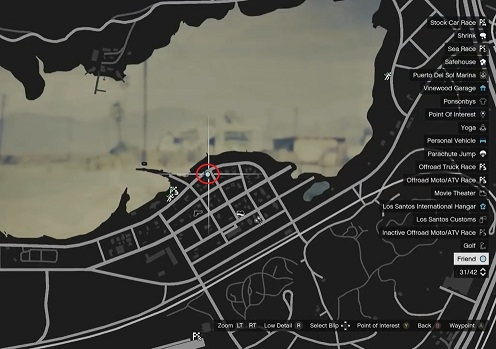 GTA 5, Human Locations, Clinton