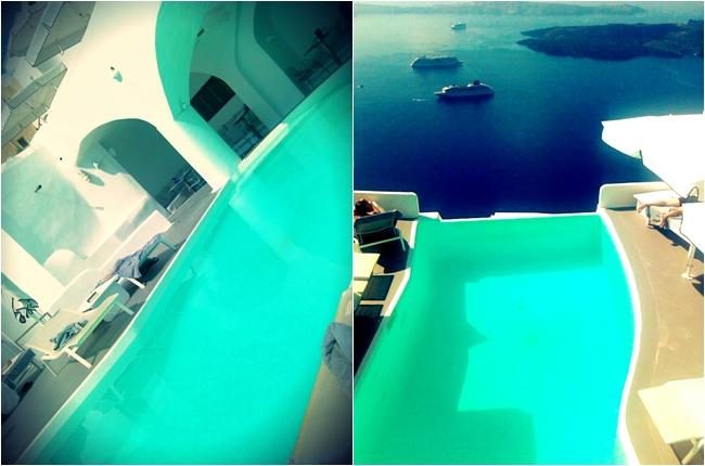 Chromata Santorini hotel pool
