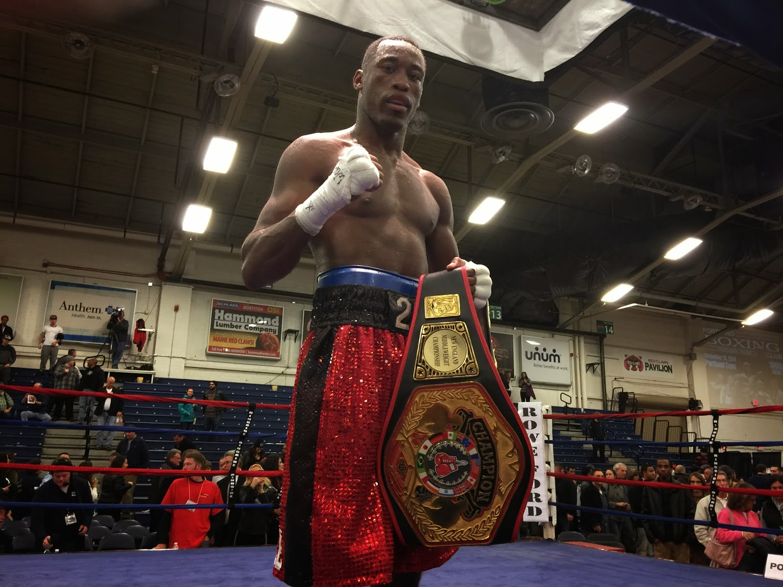 dcc99fc00cccc The Haitian Sensation is the face of Maine boxing