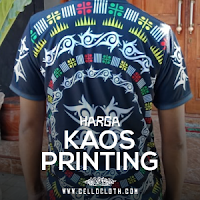 Harga Bikin Kaos Full Printing Sublim Untuk Kaos Wisata Hingga Kaos Reuni