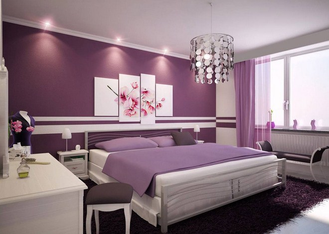 Purple Bedroom Ideas For Adults Design Corral