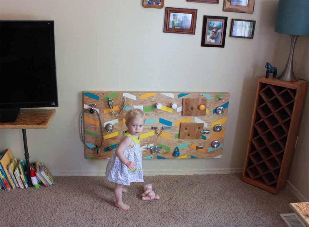 Diy Kids Activity Board