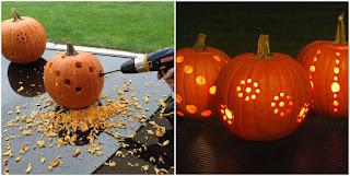manualidad en calabazas para halloween