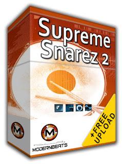 Free Supreme Snarez 1 (Modern Pop, Hip-Hop, R&B Snares)