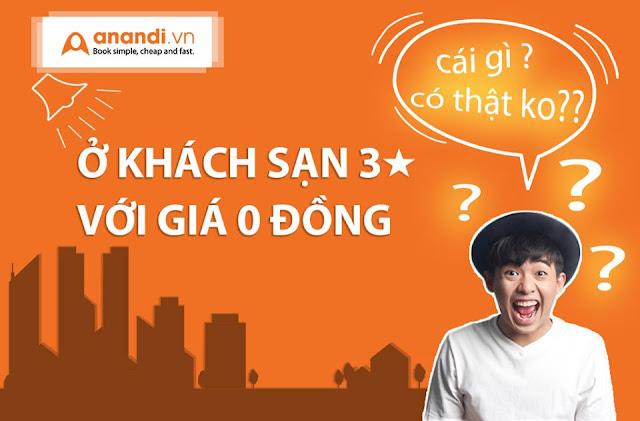 Giờ vàng giá Sốc - Đặt phòng khách sạn Đẳng cấp tại Anandi.vn