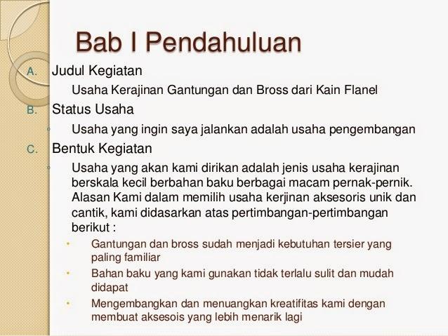 Proposal Usaha Dalam Bentuk Power Point By Galuh Musa Contoh