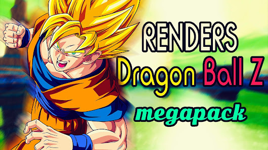 Renders Dragon Ball Z ~ MEGA PACK (HD)