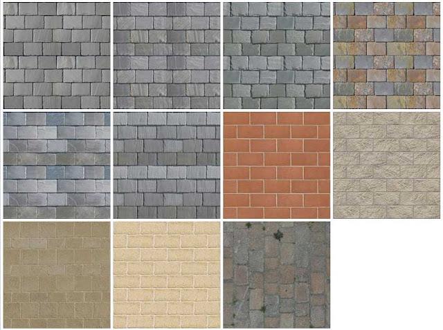 Sketchup texture texture stone walls masonry for Free sketchup textures