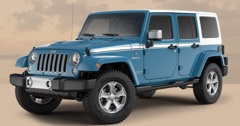 White 4 Door Jeep Wrangler For Sale Jeep Wrangler Gets A Couple More Special Editions Before ...