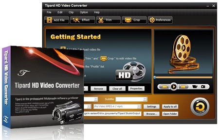 Tipard HD Video Converter v7.1.50 Full