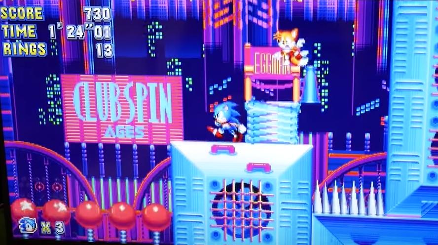 Sonic Mania se lanzará en Switch a la vez que en el resto de plataformas