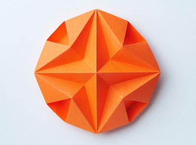 Origami Stella dodecagonale - Dodecagonal Star by Francesco Guarnieri