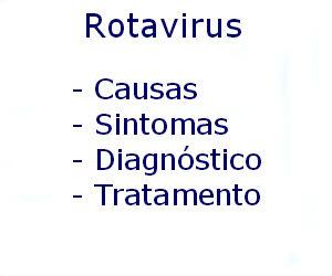 Rotavirus causas sintomas diagnóstico tratamento prevenção riscos complicações