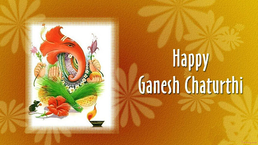 Ganesh Chaturthi HD Images Wallpapers Free Download