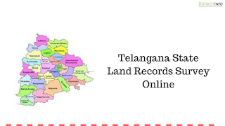 Telangana State Land Records Survey Online