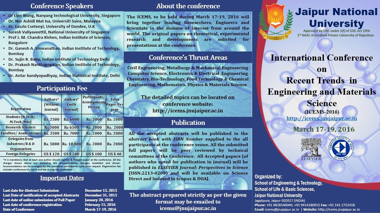 Abu Saleh: Fwd: Regarding an International Conference at JNU
